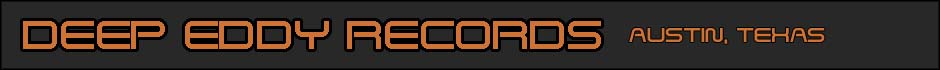 Deep Eddy Records logo